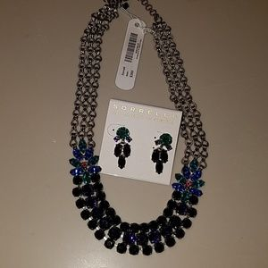 Sorrelli Jelly Bean Necklace and Earrings